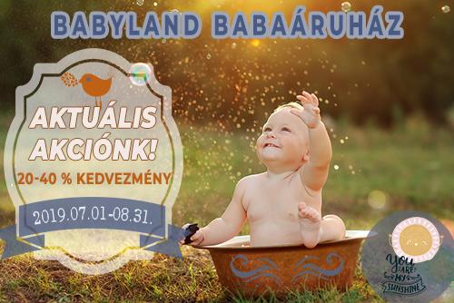 babyland akciós termékek